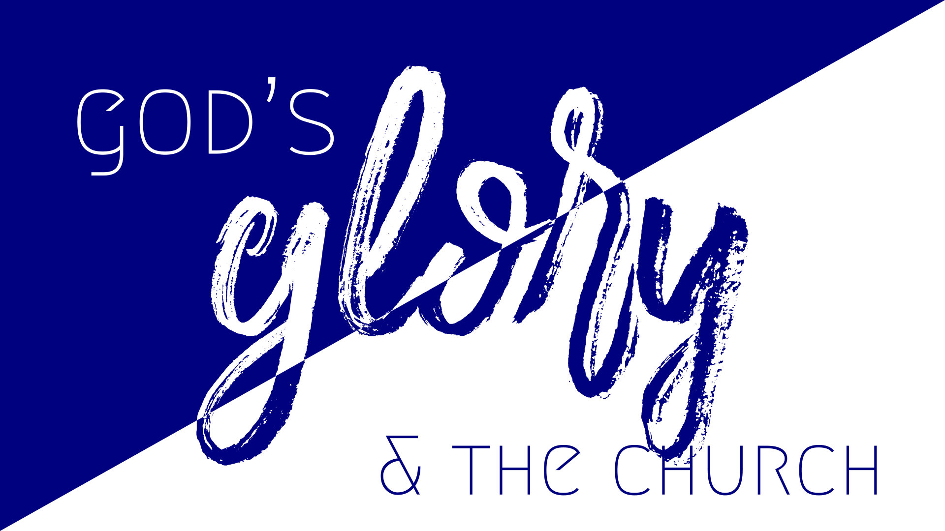 Discipleship and the Glory of God